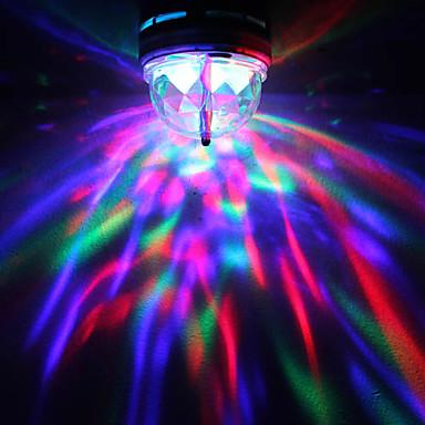 LED светеща диско крушка