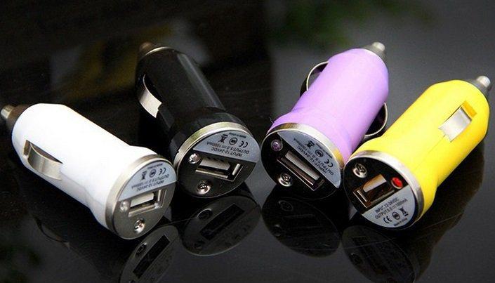 Универсално зарядно за телефони Usb 2.0 за запалка на кола