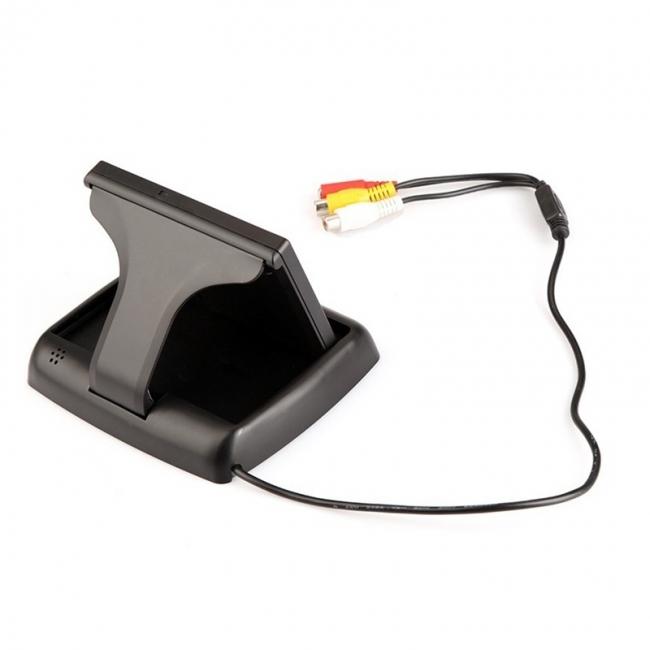 4.3 инча сгъваем TFT LCD монитор за камера за задно виждане