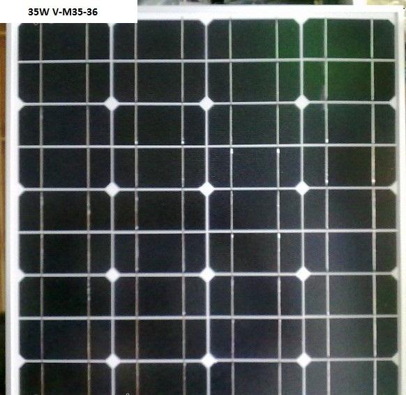 Соларен панел - 35 W, моно-силициев