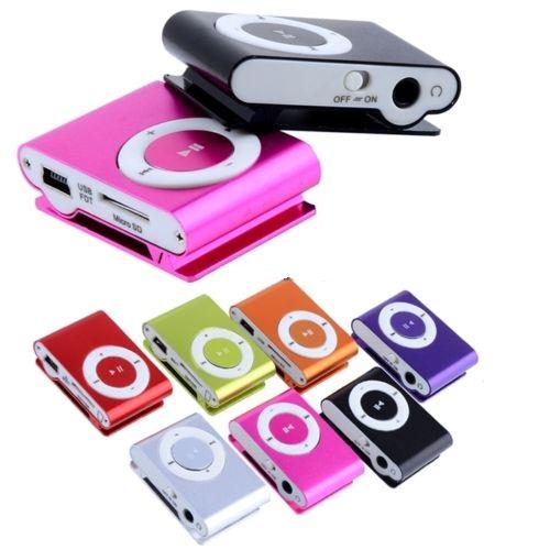 Мини MP3 плеър със слушалки