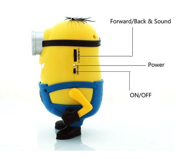 Портативна мини MP3 USB колонка говорител Миньон