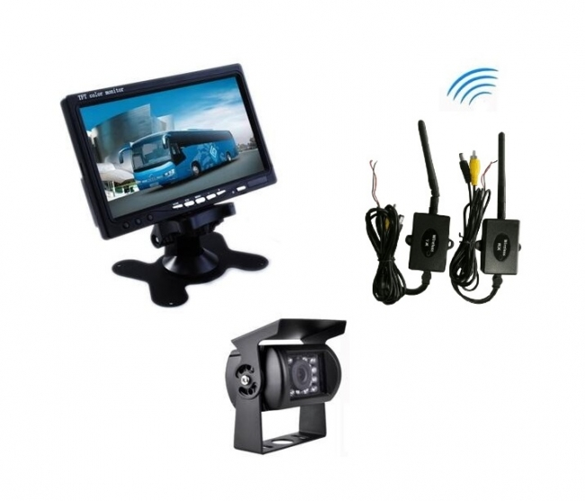 комплект монитор и камера за задно виждане