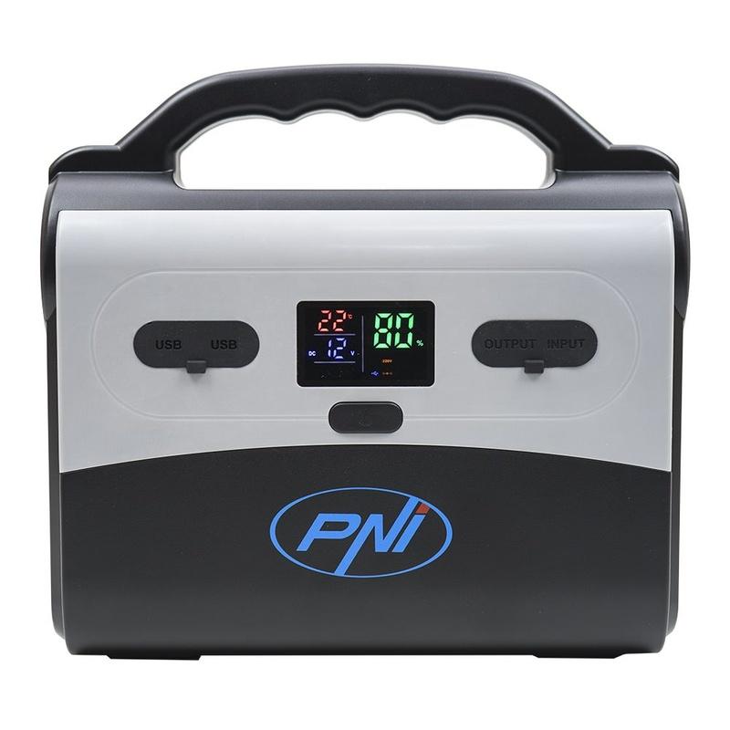 Соларна система PNI GreenHouse H200, 30W, USB/Radio/MP3, с акумулатор, 3 LED крушки LED крушки