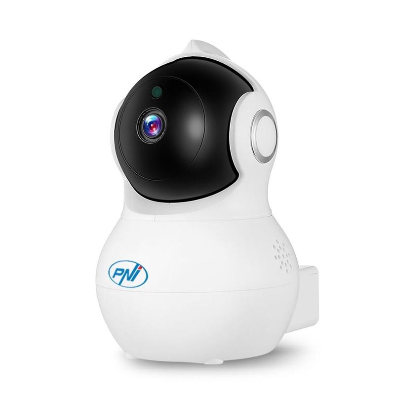 Камера PNI IP930W 1080P 2 MP cu IP P2P PTZ wireless, slot card microSD