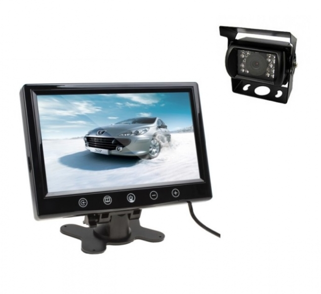 камера и монитор за камион