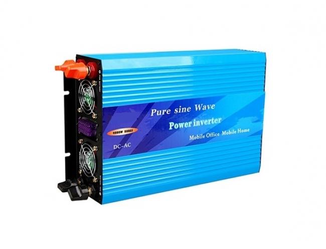 Инвертор Пълна Синусоида 2000W - 24V за кемпери, каравани, камиони