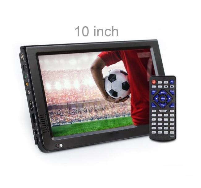 Портативен телевизор с цифров тунер DVB-T2 LEADSTAR D10 10.1 инча HDMI