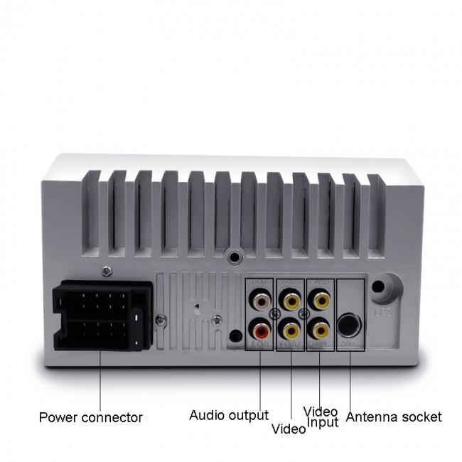 Универсален мултимедиен плеър AT 7010B, Bluetooth, MP5 + камера за задно виждане