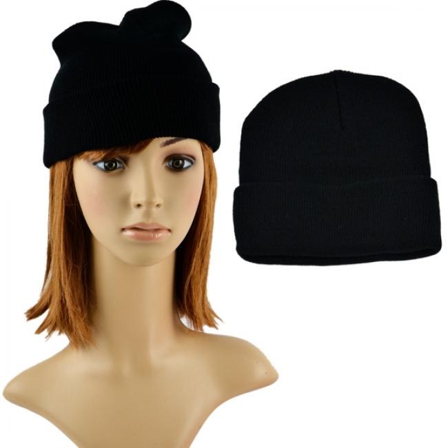 65eb3baf932 Дамска зимна шапка черна - Евтини стоки от Promo-Stoki.com - Таблети