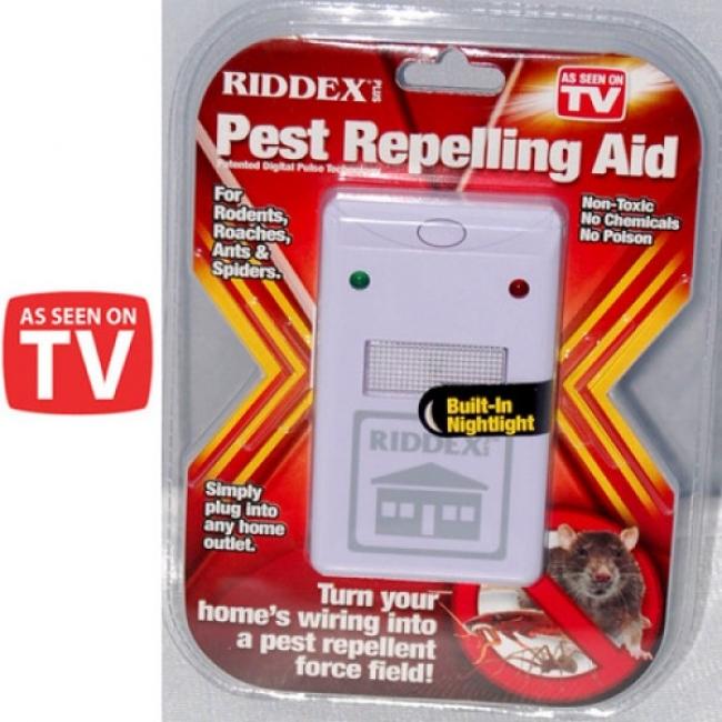 Ултразвук за прогонване на хлебарки и вредители RIDDEX