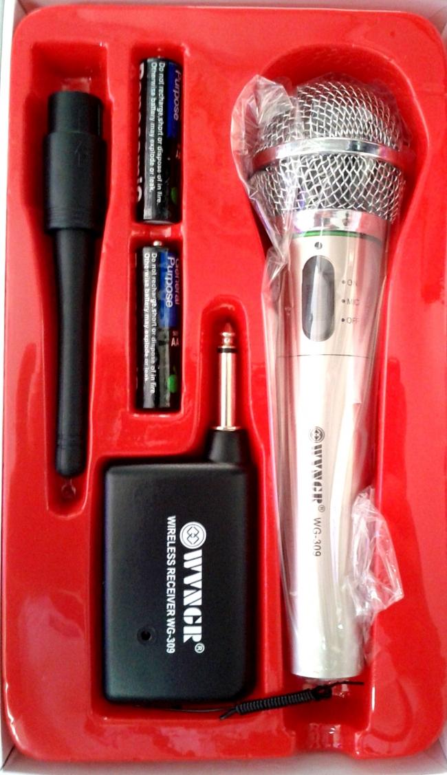 Висококачествен безжичен микрофон WEISRE WVNGR