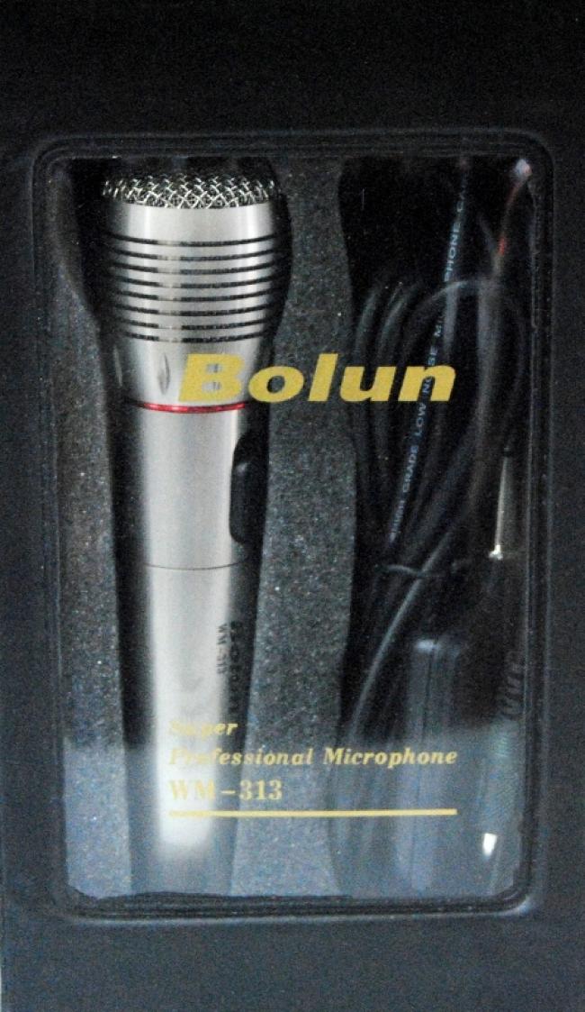 Безжичен микрофон BOLUN WM-313