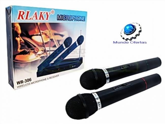 Комплект безжични микрофони RLAKY WR-306, Най-ниска Цена