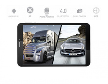 5в1 4G GPS Таблет Prestigio MultiPad Wize 3508 - 8 инча, SIM, Android 5, 16GB, DVR, ТЕЛЕВИЗИЯ