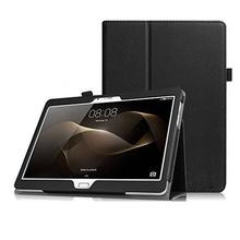 Кожен калъф за Huawei MediaPad M2 10 инча ПАПКА + ПИСАЛКА