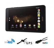 5в1 4G Мощна навигация с Android Таблет Acer Iconia 7 инча, ТЕЛЕВИЗИЯ, 16GB, SIM, 2GB RAM