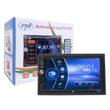 Универсална мултимедия double din PNI V6270, Bluetooth, USB, 7 инча + КАМЕРА