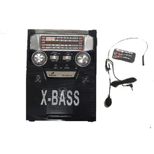 Преносимо мини FM радио X-BASS